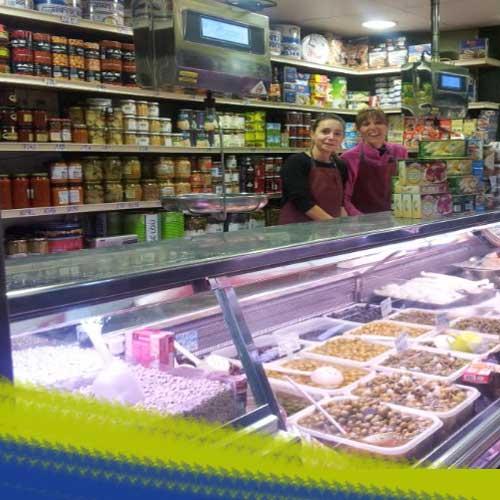 Rezusta, en el Mercado Central de Zaragoza