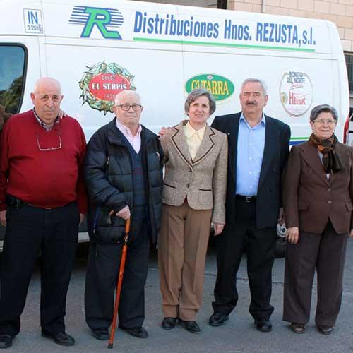 Hermanos Rezusta, fundadores de la empresa.