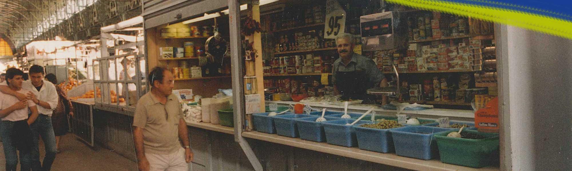 Rezusta en el Mercado Central de Zaragoza